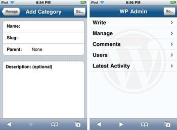 Wordpressiphone