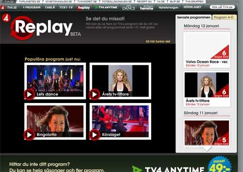 tv4replay